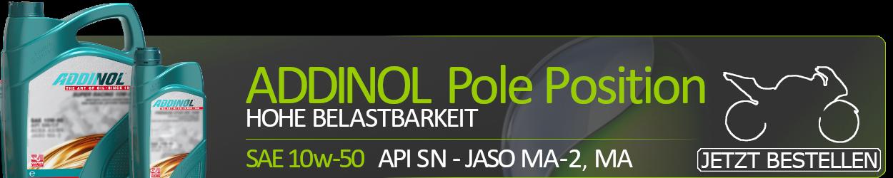ADDINOL Motoröl 10w50 Pole Position SAE 10W-50