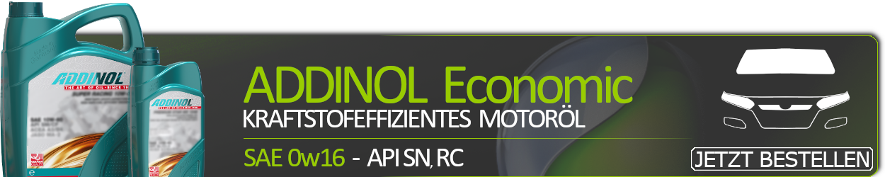 ADDINOL Motoröl 0W16 Economic 016 API SN RC