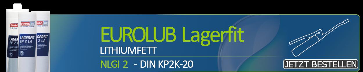 Eurolub Schmierfett Lagerfit EP 2 LA