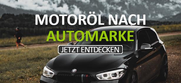 Motoröl nach Automarke