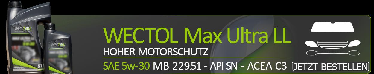 WECTOL Motoröl 5W30 Max Ultra LL 5W-30