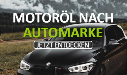 Motoröl nach Automarken