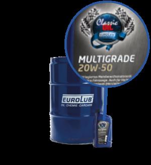 Eurolub Motoröl 20W50 Classic Multigrade
